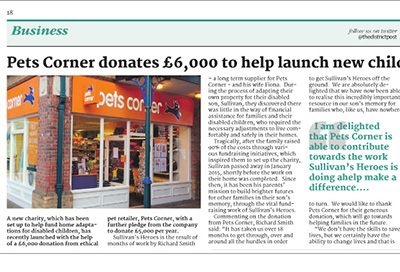 Horsham District Post feature Sullivan's Heroes
