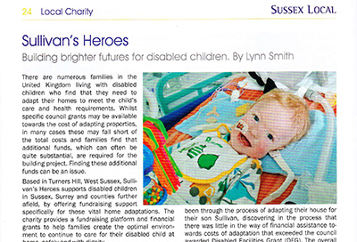 Sussex Local features Sullivan's Heroes