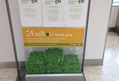 Thank you Waitrose and our supporters