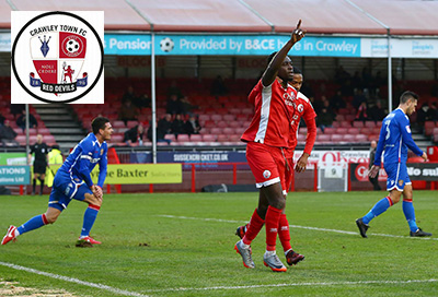 Crawley Town Football Club supports Sullivan's Heroes