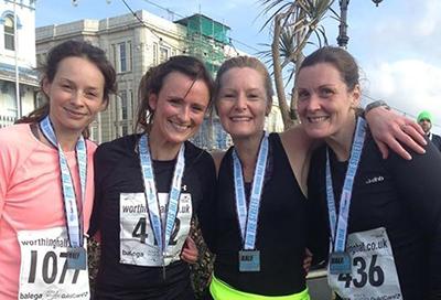 Rebecca Lenik's Half Marathon