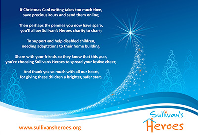 Give more than a card this Christmas...