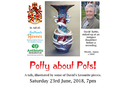 David Battie's 'Potty about Pots'