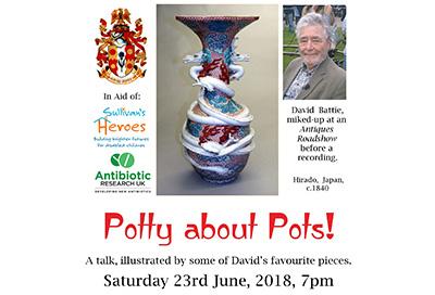 David Battie's 'Potty about Pots'