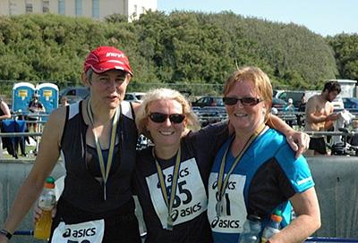 Lyn, Angie & Gudrun's RiverSwim4Reuben