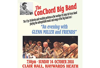 Mid Sussex Times promotes ConChord Big Band event