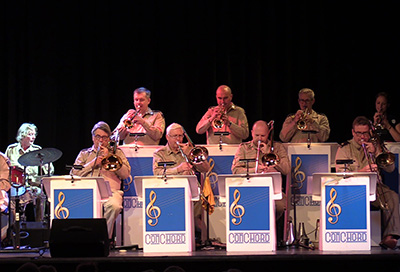 The ConChord Big Band evening is a resounding success