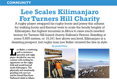 RHuncovered features Lee's Mount Kilimanjaro climb