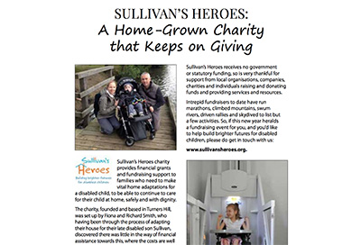 East Grinstead Living features Sullivan's Heroes