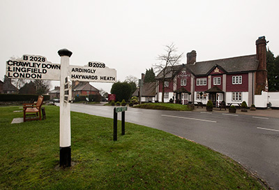 Funds flowing from The Crown at Turners Hill