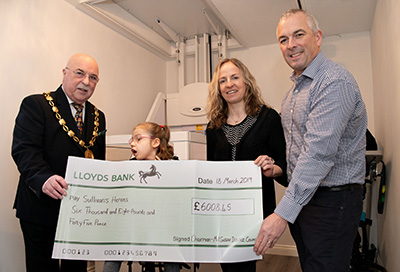 Mid Sussex District Council's Chairman raises £6,000