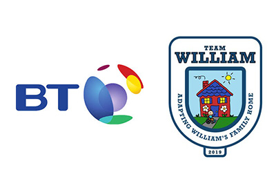 BT raise funds for Team William