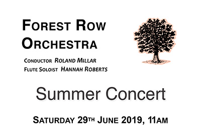 Forest Row Orchestra Summer Concert delights