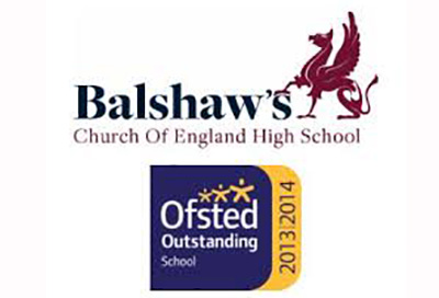Balshaw's Church of England High School boost Team William
