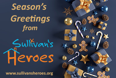 Season's Greeting from Sullivan's Heroes