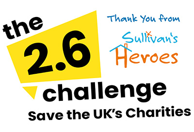 Thank You Home Heroes for your 2.6 Challenge!