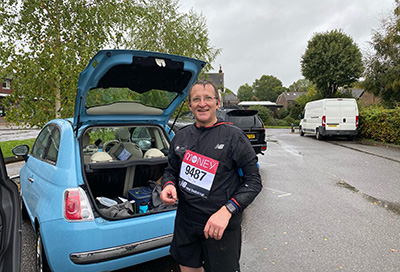 Simon's Marathon Success for Sullivan's Heroes