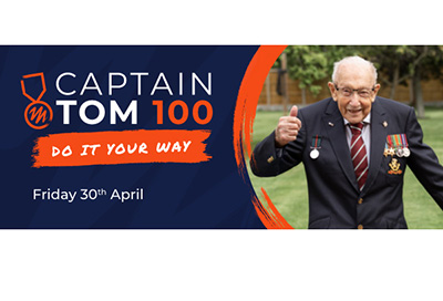 Be a 'Captain Tom 100' Hero for Sullivan's Heroes