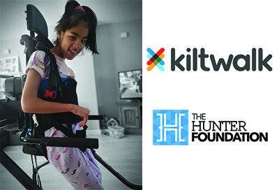 'Keira's BIG Build' Kiltwalk and THF raise funds