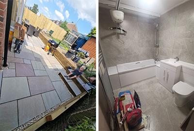 'Fletcher's new bedroom & bathroom' dream is fulfilled!